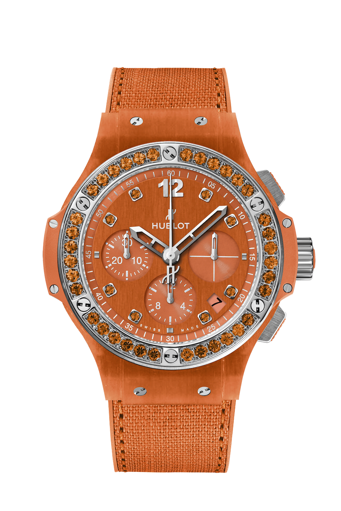 Hublot Big Bang Orange Linen Ref 341.XO.2770.NR.1206