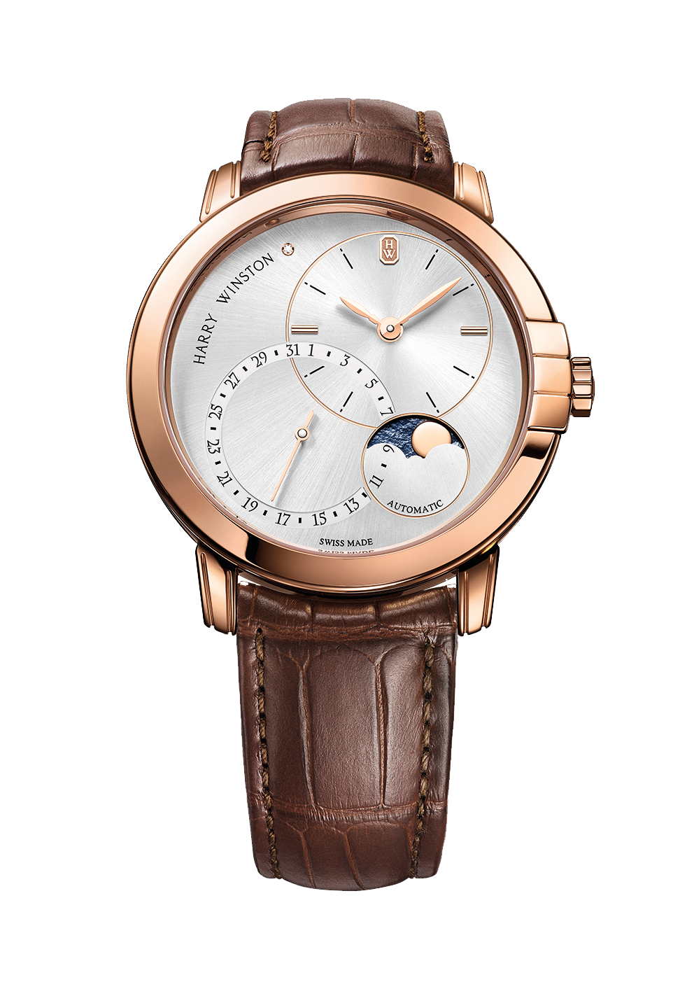 Harry Winston Midnight Date Moon Phase Automatic