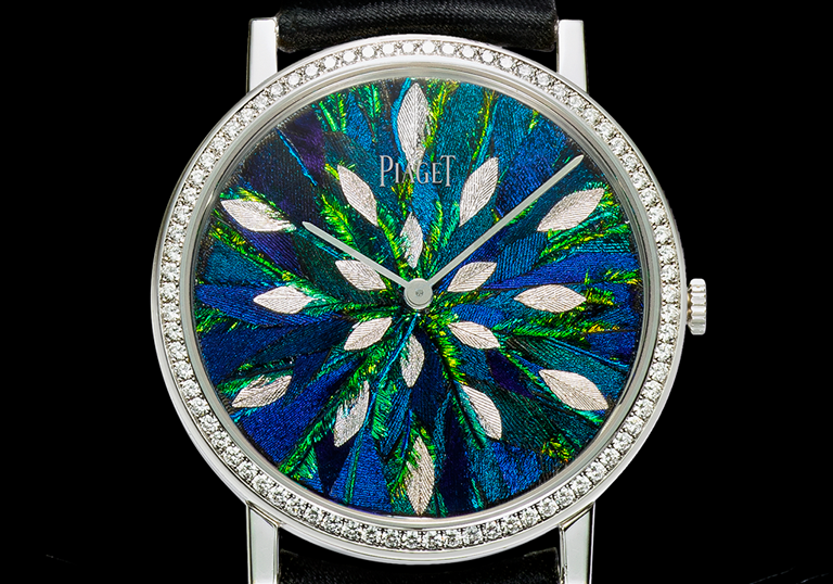 Piaget, Piaget Altiplano Feather Marquetry