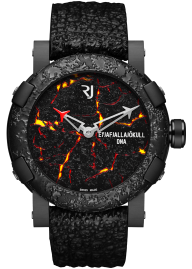 RJ Romain Jerome Eyjafjallajökull-DNA Burnt Lava