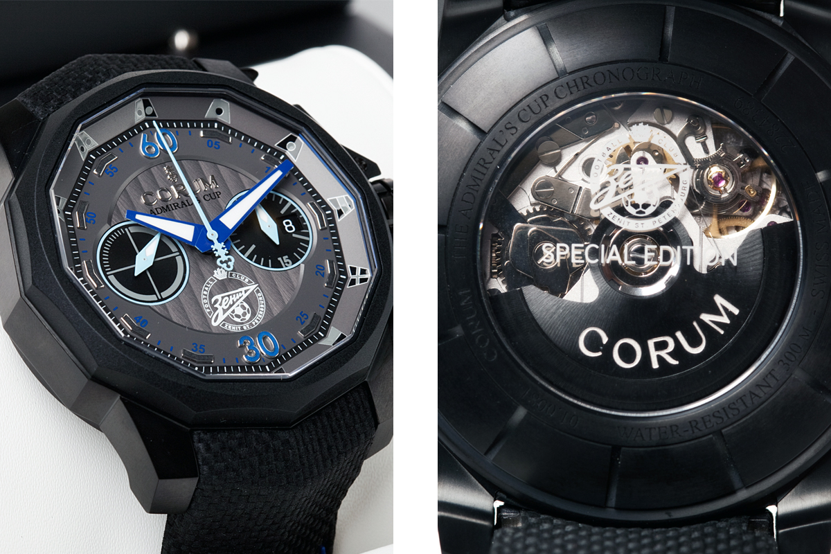 Corum Admiral's Cup FC Zenit Chronograph 48 mm
