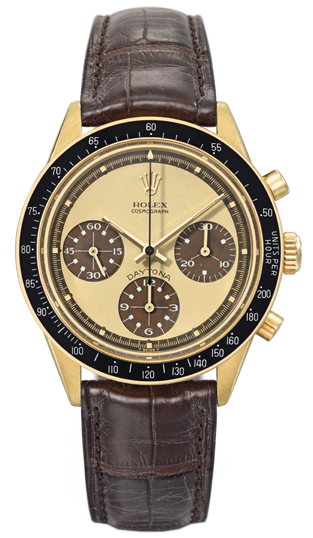 Rolex Reference 6264 – The Paul Newman Tropical Lemon Cosmograph Daytona