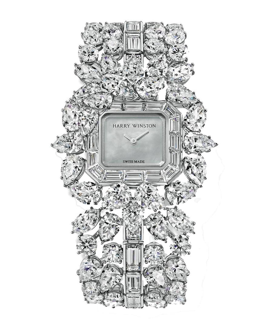 Harry Winston Emerald Cluster