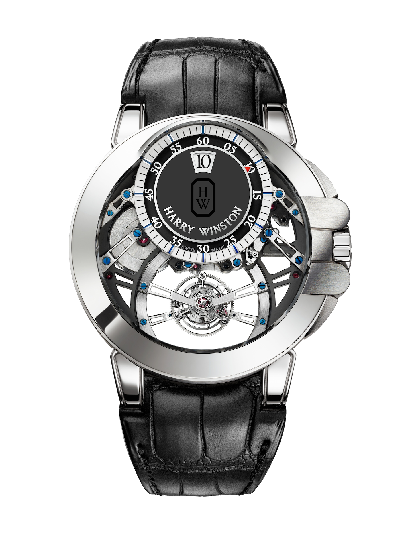 Harry Winston Ocean Tourbillon Jumping Hour