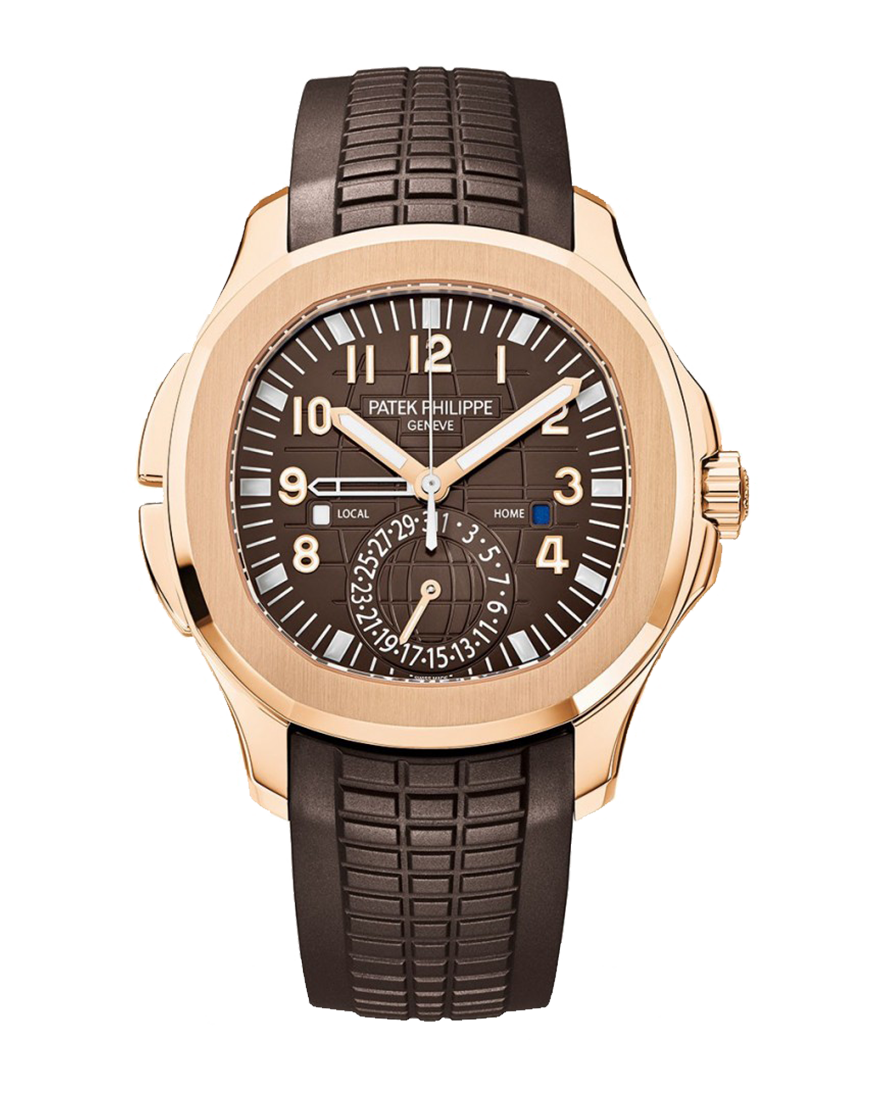 Patek Philippe Aquanaut Travel Time Ref 5164R-001