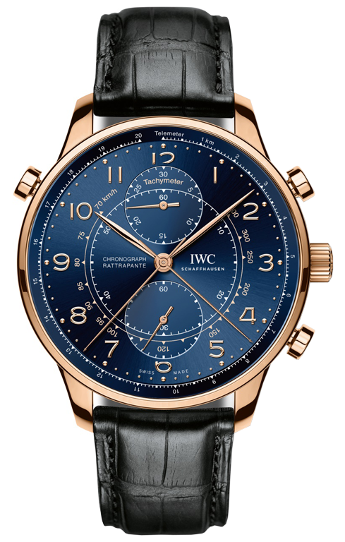 IWC Portugieser Double Chronograph Edition Milan