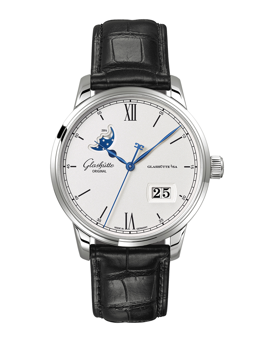 Glashutte Original Senator Excellence Panorama Date Moon Phase
