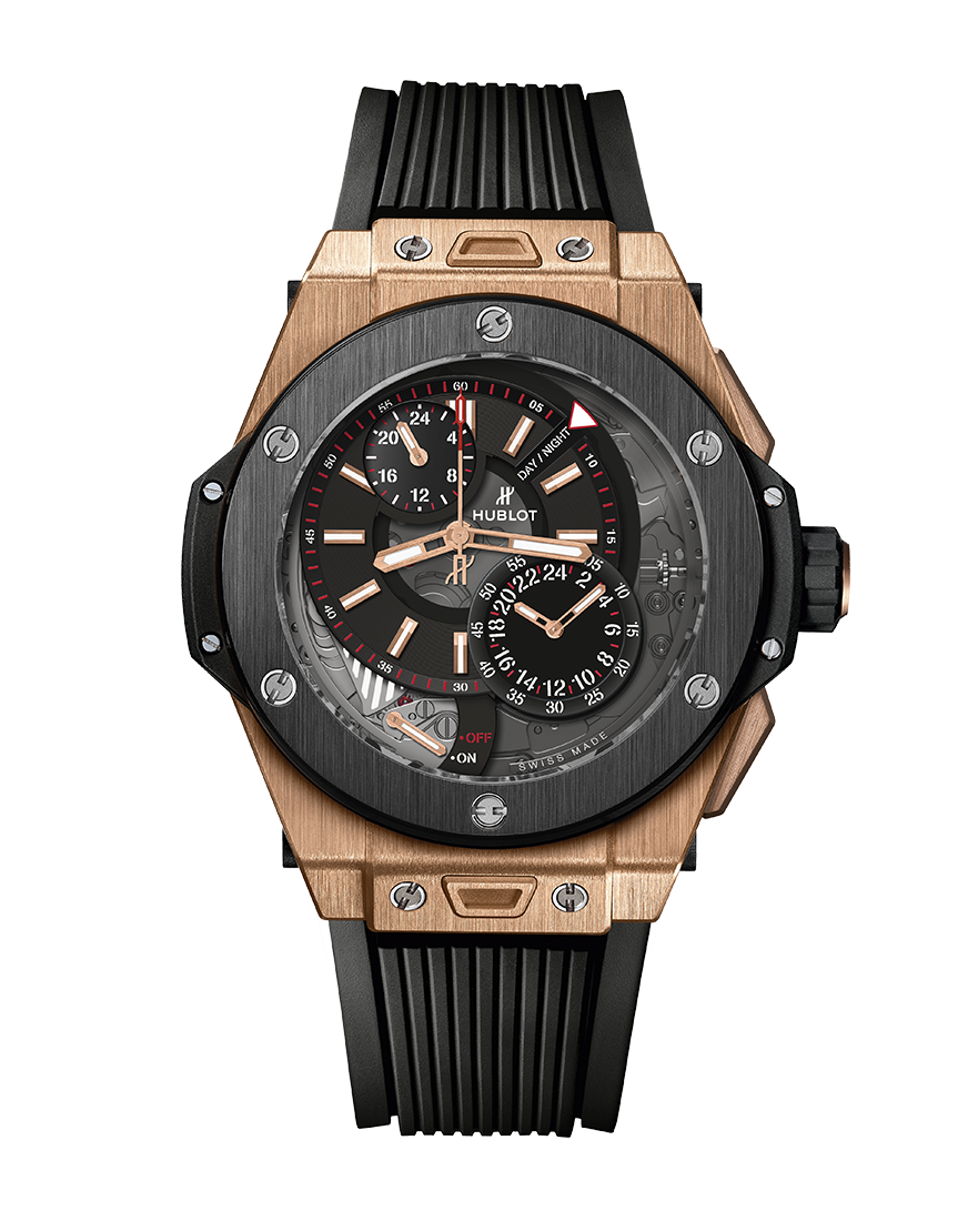 Hublot Big Bang Alarm Repeater King Gold Ceramic Ref 403.OM.0123.RX