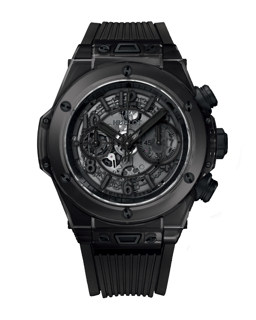 Hublot Big Bang Unico All Black Sapphire Ref 411.JB.4901.RT