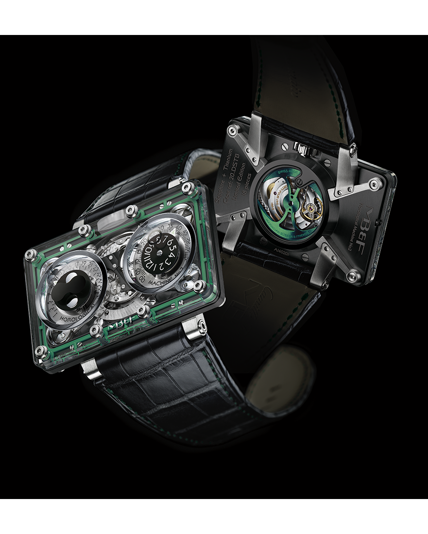 MB & F HM2 Black SV