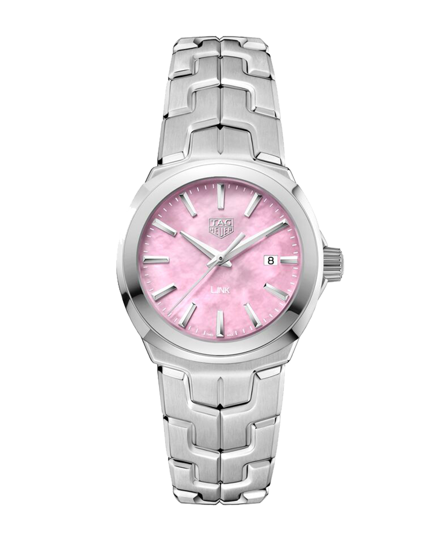 Tag Heuer Link Lady Pink Dial