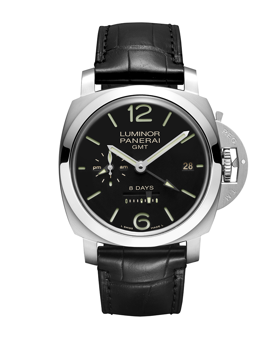 Officine Panerai Luminor 1950 8 Days GMT Acciano