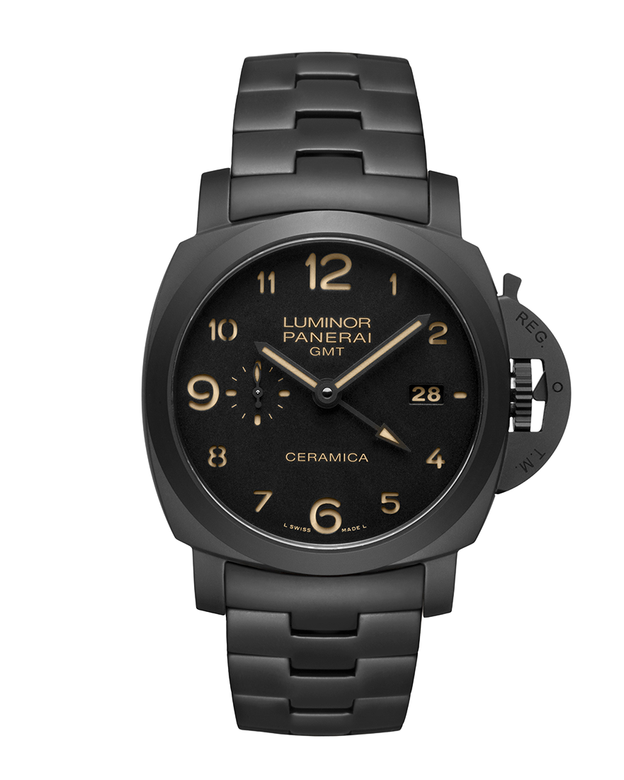 Officine Panerai Tuttonero — Luminor 1950 3 Days GMT Automatic Ceramica