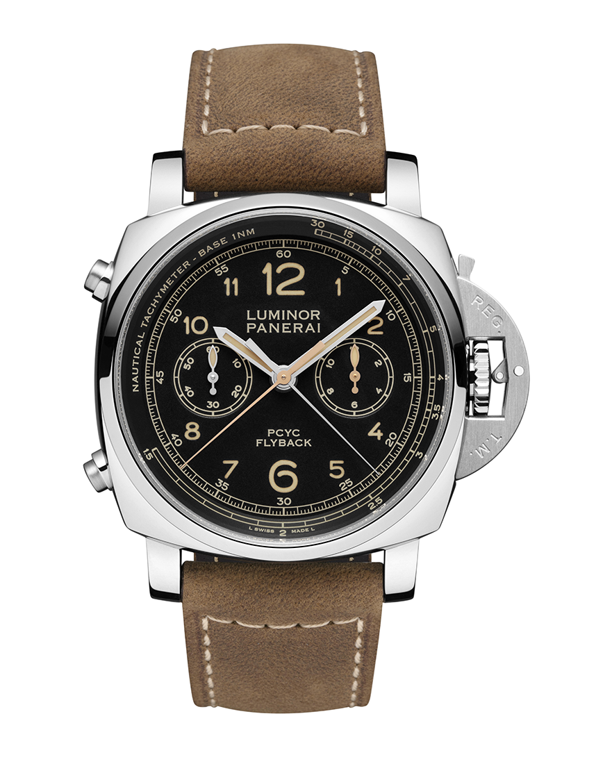 Officine Panerai Luminor 1950 PCYC 3 Days Chrono Flyback Automatic Acciaio