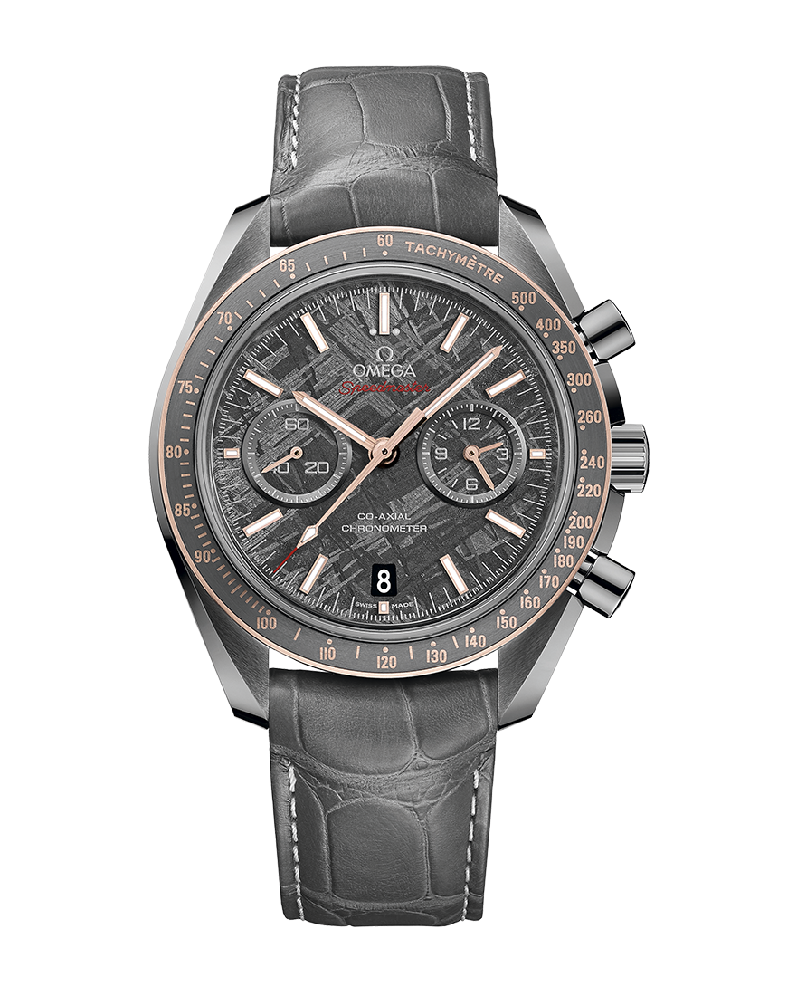 "Omega Speedmaster Grey Side of The Moon ""Meteorite"""