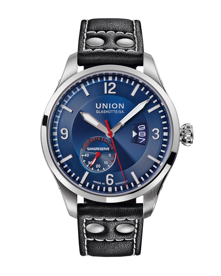 "Union Glashutte BELISAR Pilot Power Reserve Limited Edition ""Sachsen Classic 2016"""