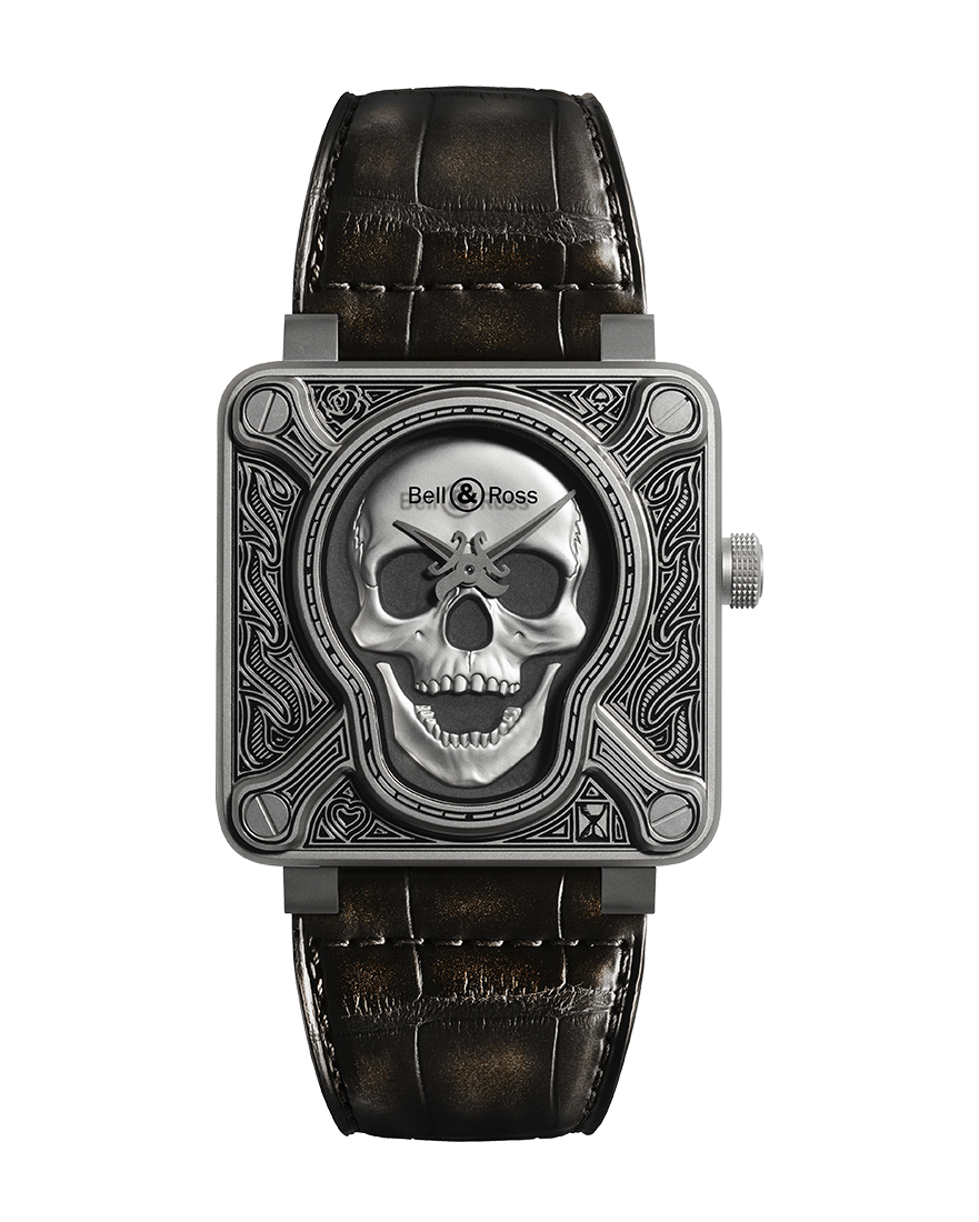 Bell & Ross BR01-92 Burning Skull