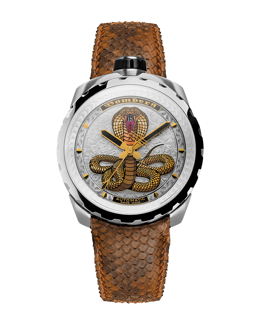 Bomberg Bolt-68 Steel Cobra Automatic