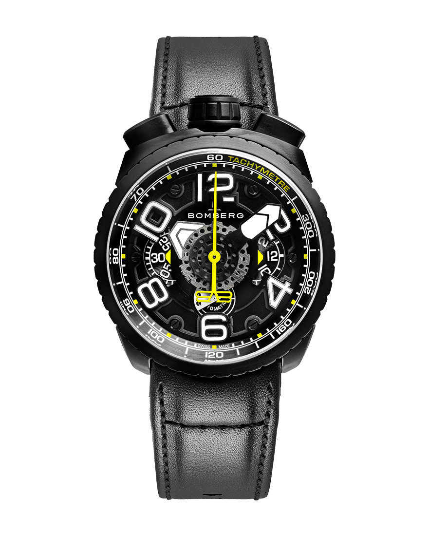 Bomberg Bolt-68 Black Chronograph Automatic