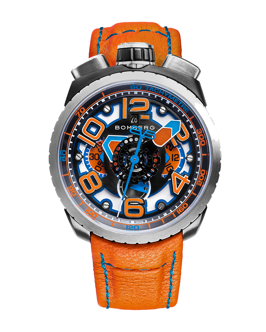 Bomberg Bolt-68 Orange Automatic Chronograph