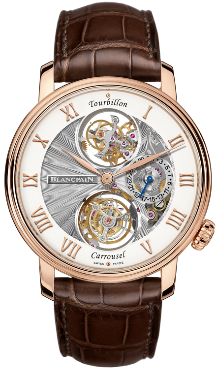 Часы Blancpain Tourbillon Carrousel
