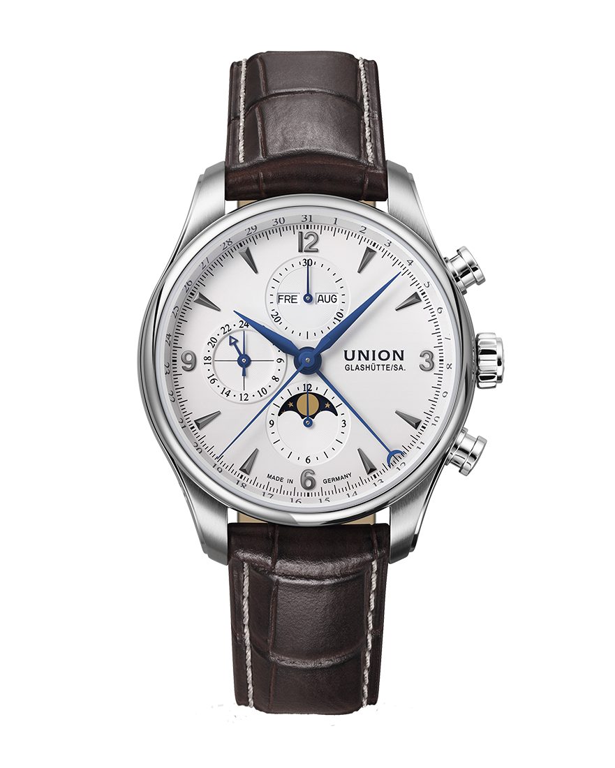 Union Glashutte BELISAR Chronograph Moon Phase