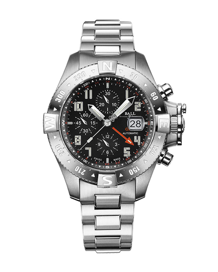 Ball Engineer Hydrocarbon Spacemaster Orbital II Ref DC3036C-SA-BK