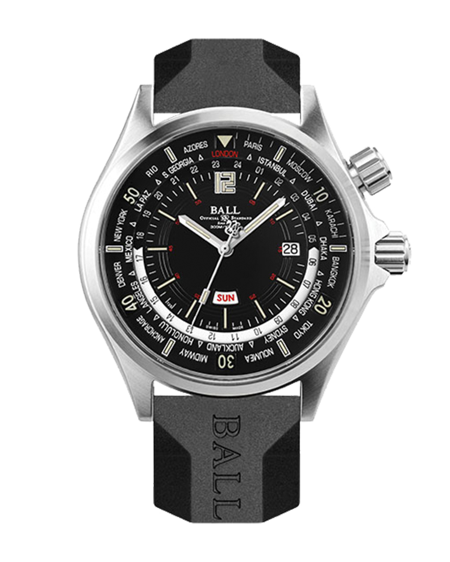 Ball Engineer Master II Diver Worldtime Ref DG2022A-S3A-BK