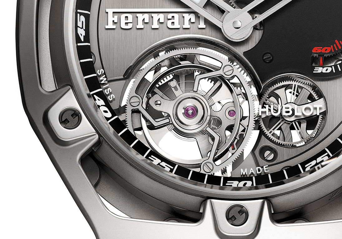 hublot-techframe-ferrari-tourbillon-chronograph-detail