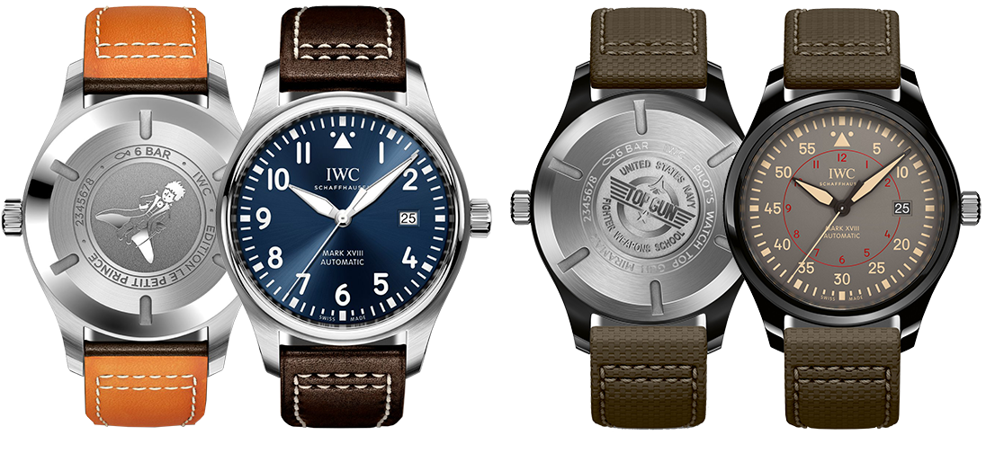 "IWC Pilot's Watch Mark XVIII ""Le Petit Prince"", IWC Pilot's Watch Mark XVIII Top Gun Miramar. Изображение: iwc.com"