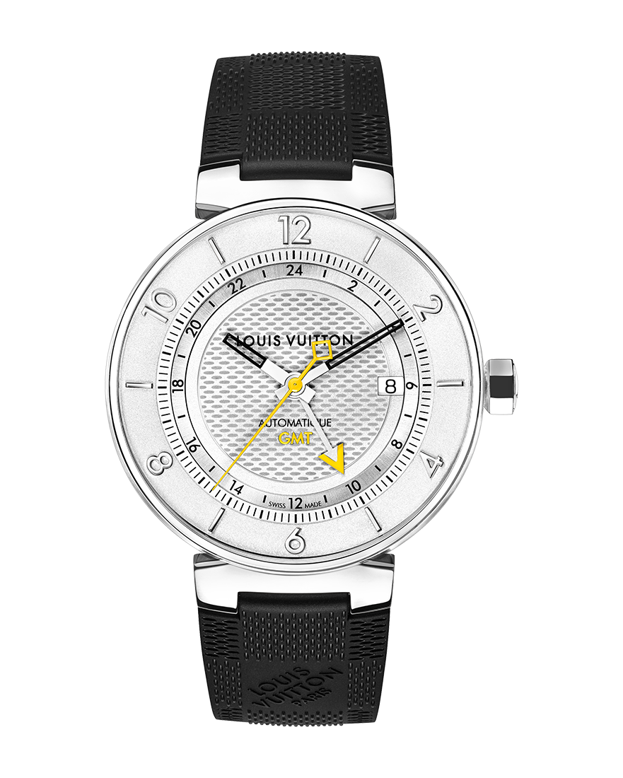 Louis Vuitton Tambour Moon GMT Ref QAAA13