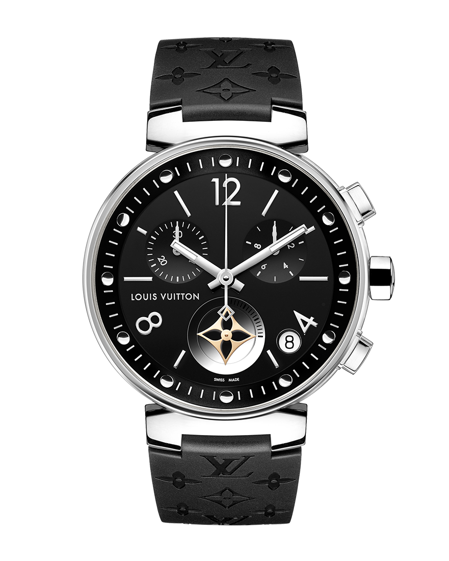 Louis Vuitton Tambour Moon Star Ref QAAA54