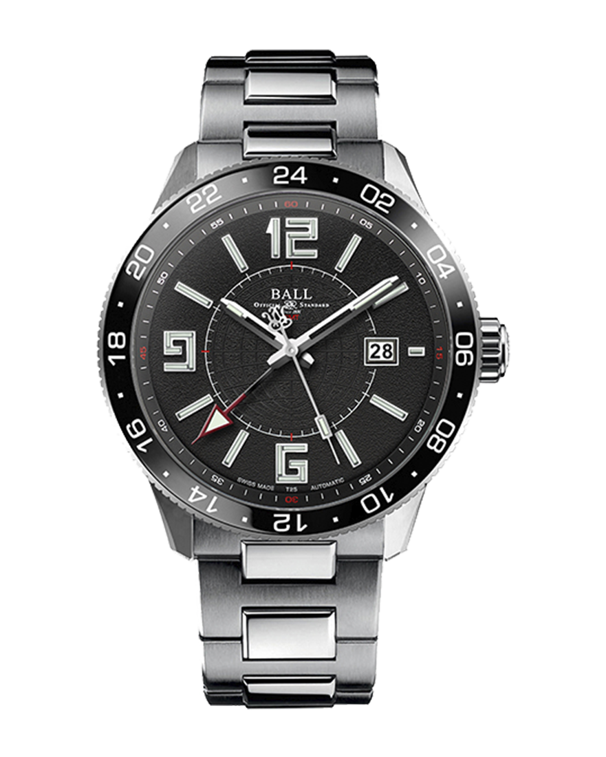 Ball Engineer Master II Pilot GMT Ref GM3090C-SAJ-BK