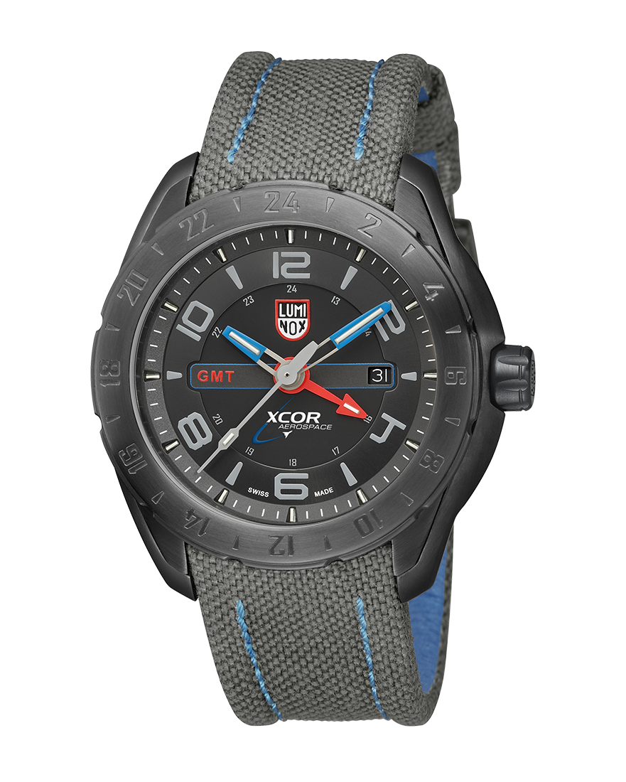 Luminox Xcor Aerospace Steel GMT 5121