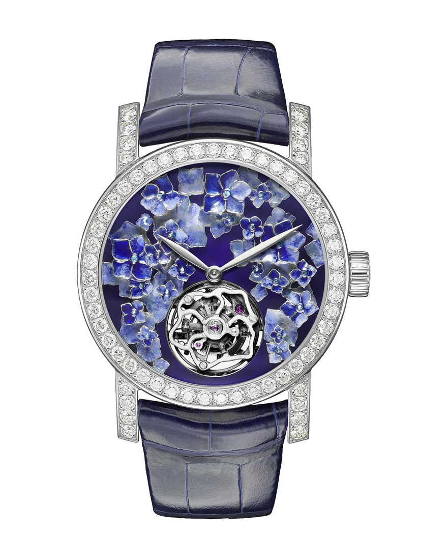 "Chaumet Hortensia ""Voie Lactée"" watch Extra Large Model W20190-01F"