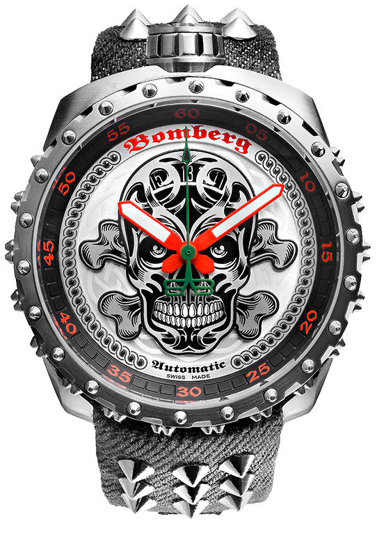Bomberg Bolt-68 Grey Nails Badass