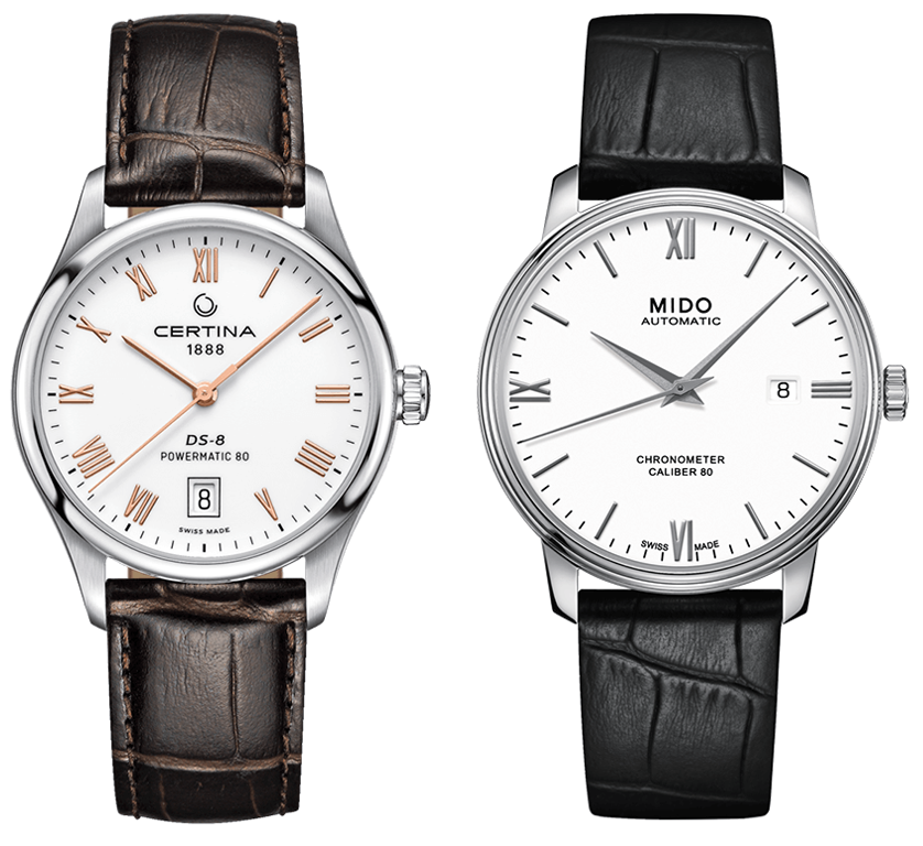 Certina DS-8 Powermatic 80, Mido Baroncelli III