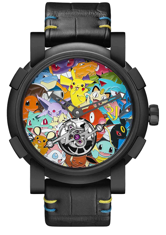 Romain Jerome Tourbillon Pokémon Unique piece