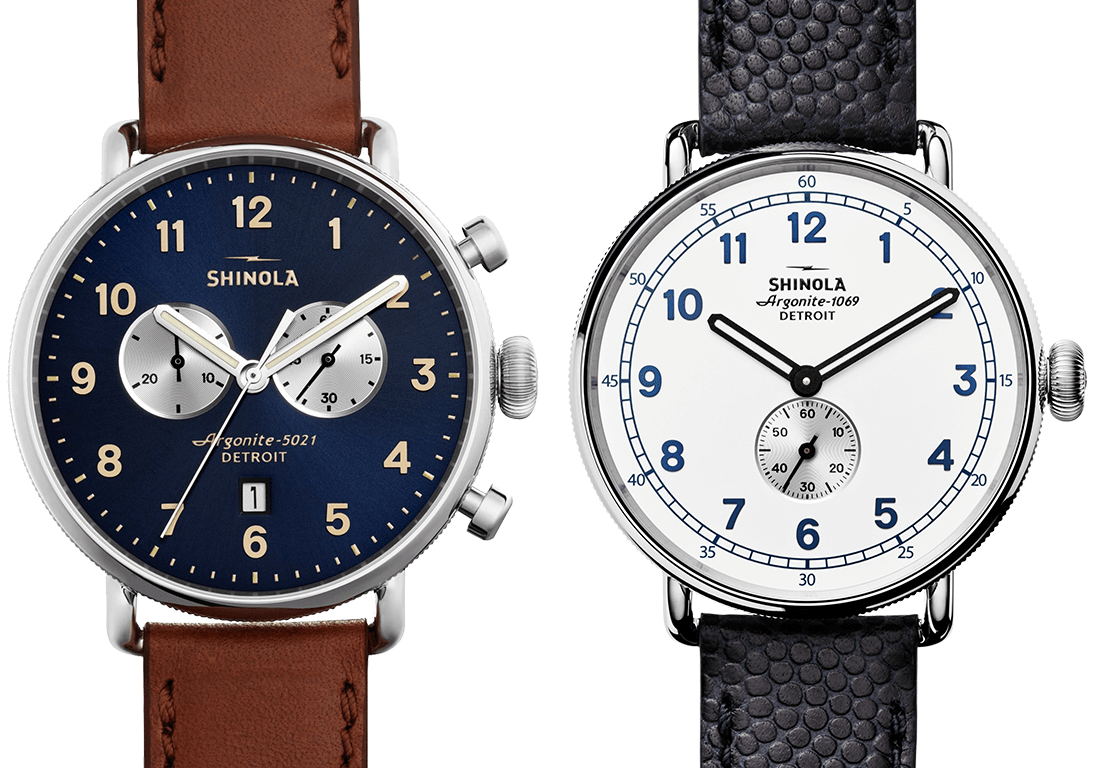 Shinola Canfield Chrono, Shinola Cannonball Limited Edition