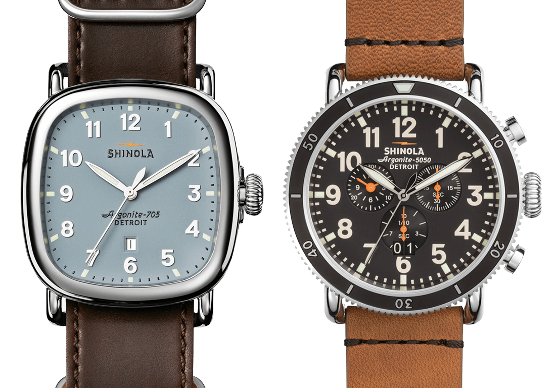 Shinola The Guardian, Shinola Runwell Sport Chrono