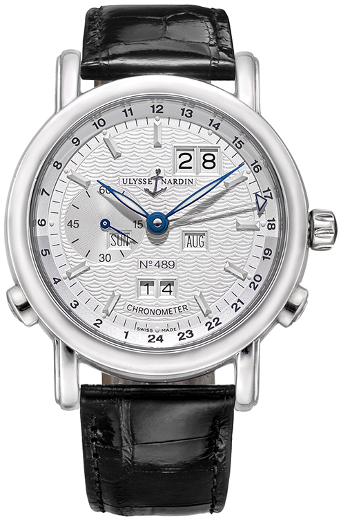 Ulysse Nardin Platinum Perpetual Calendar GMT Limited Edition, Ref. 329-80