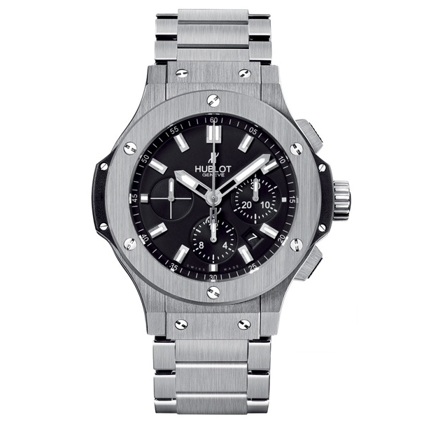 Hublot Big Bang Steel Bracelet 44mm Chronograph. Изображение: пресс-служба Hublot