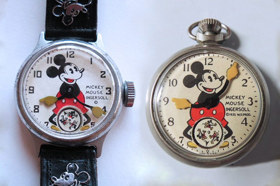 Ingersoll Walt Disney Mickey Mouse. Изображения: reasonandreflection.wordpress.com , collectorsweekly.com