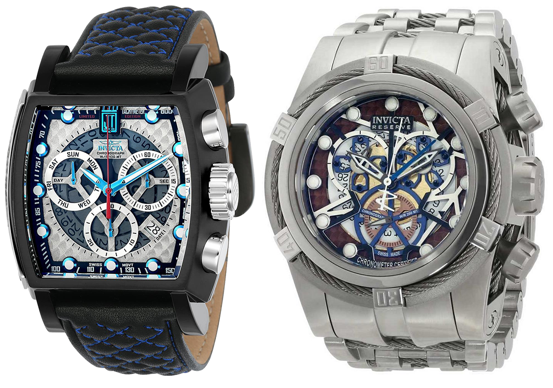 Invicta Reserve Bolt Zeus Chronometer, Invicta Jason Taylor. Изображения: пресс-служба Invicta