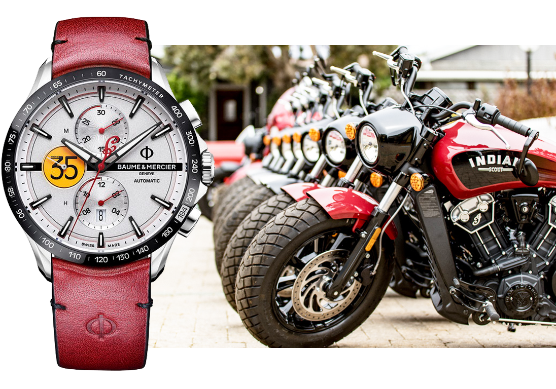 Baume & Mercier Clifton Club Burt Munro Limited Edition. Источники: пресс-служба Baume & Mercier, ablogtowatch.com