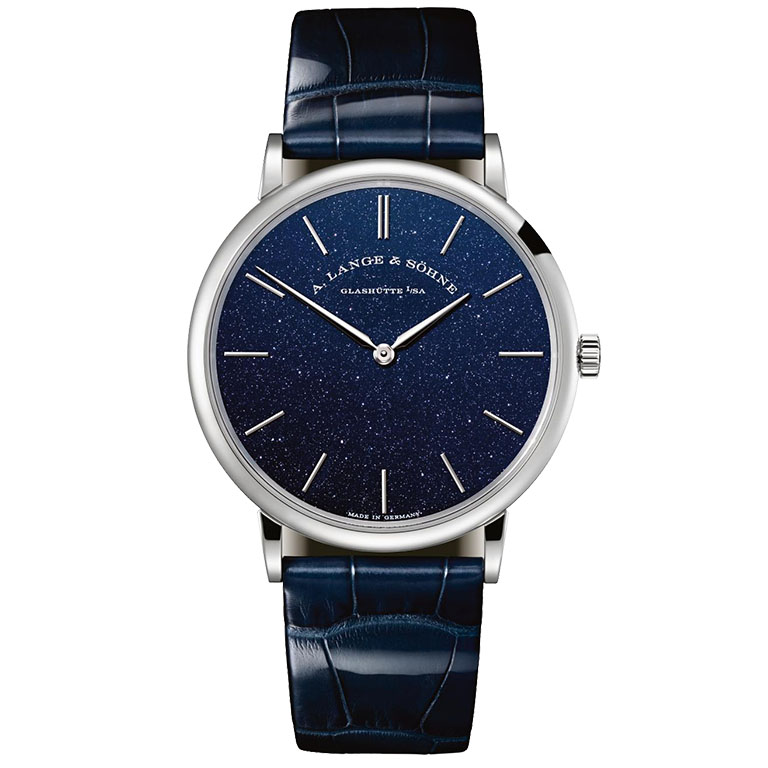 A. Lange & Söhne Saxonia Thin Copper Blue
