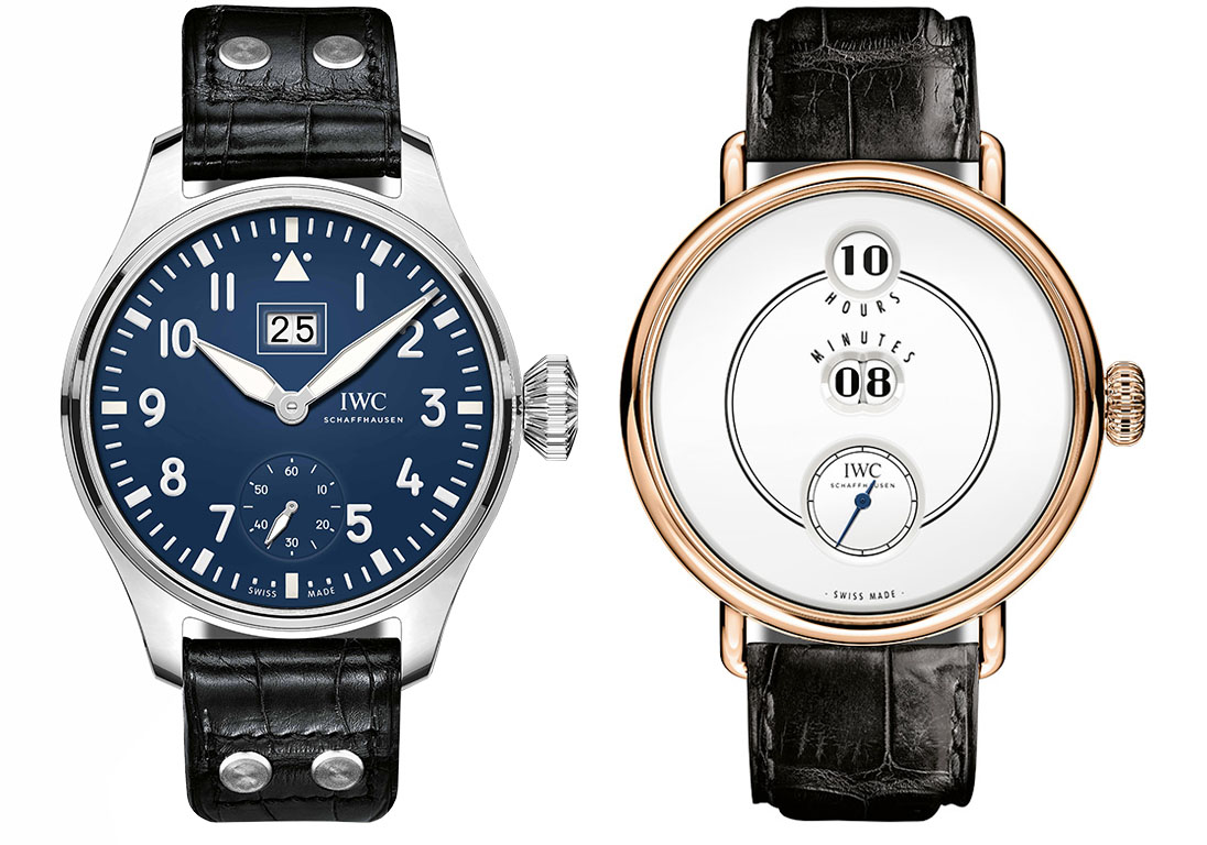 "Big Pilot's Watch Big Date Edition ""150 Years"", IWC Tribute to Pallweber Edition ""150 Years"""