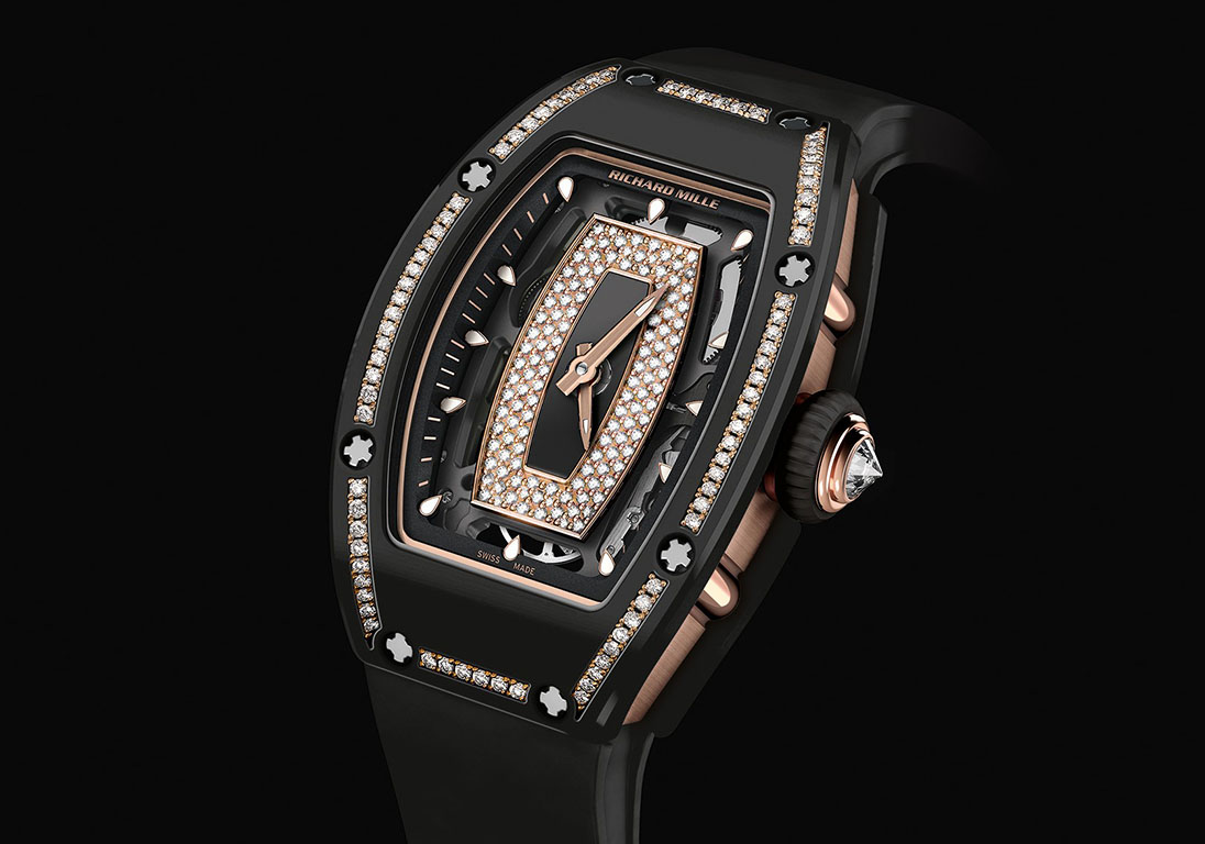 Richard Mille RM 07-01 Gem-Set Black Ceramic