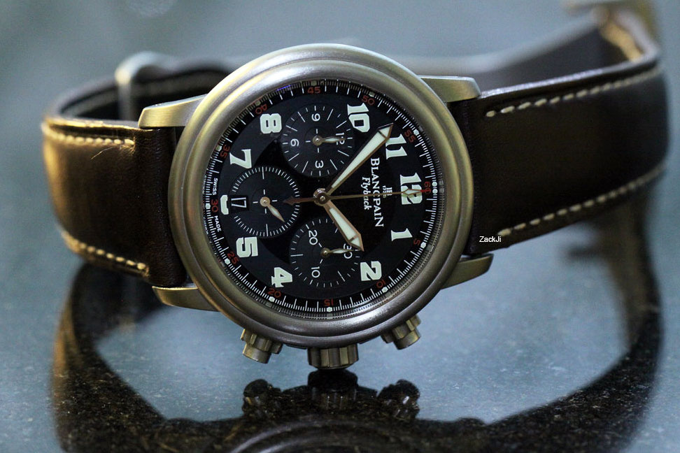 Blancpain Léman Flyback Chronograph 2185F 1130 71