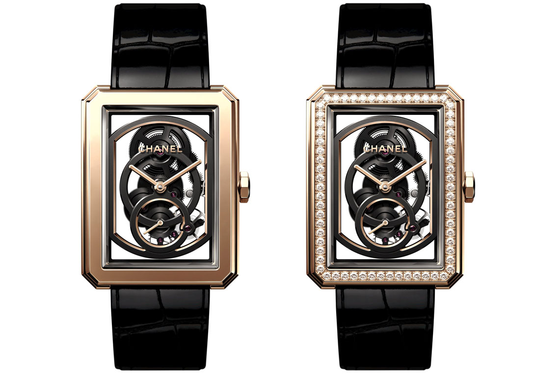 Chanel Boyfriend Skeleton Caliber 3